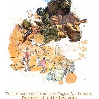 1er de Couv - RA 2016 - CCPAL - vignette