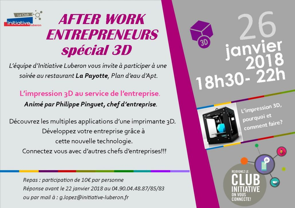 Invitation Soirée 3D