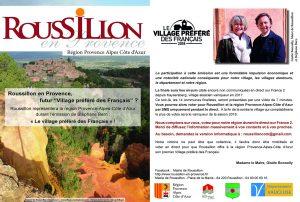 AFFICHE ROUSSILLON BERN COM PACAWEB