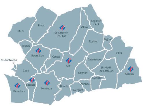 Bureaux OTI - Pays d'Apt Luberon