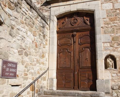 Gignac-église-porte