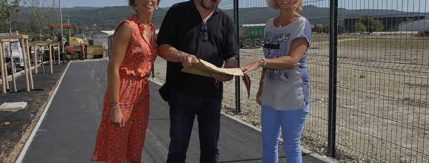 ZA Perréal : Julie Bovas, Gilles Ripert, Christelle Gay