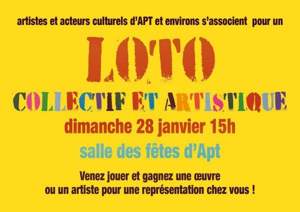 loto collectif et artistique - janv.2018