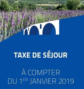 1er Couv. Dépliant Taxe de séjour 2019 - Copie