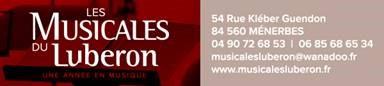Contact Les Musicales du Luberon